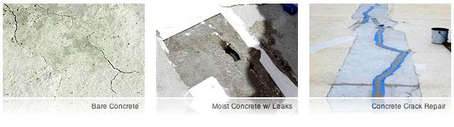 problems of concrete roof